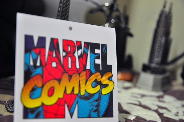 Na zdjęciu okładka komiksu Marvel.
